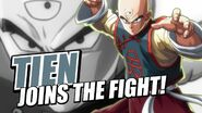 Tien Joins The Fight!