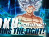 Goku (Ultra Instinct)/Gallery