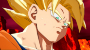 Goku Turns Super Saiyan For the First Time