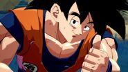 Goku's Big Thumbs Up.