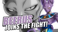 Beerus Joins The Fight!