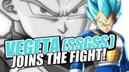 Vegeta (SSGSS) Joins The Fight!
