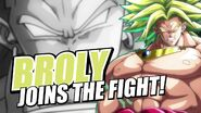 Broly Joins The Fight!