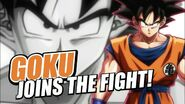 Goku Joins The Fight!