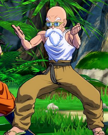 Afterimage Master Roshi Dragon Ball Fighterz Wiki Fandom