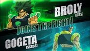 Broly (DBS) & Gogeta (SSGSS) Joins The Fight!