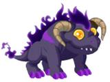 Dragón Fuego Oscuro