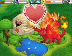 2 flaming rock breeding