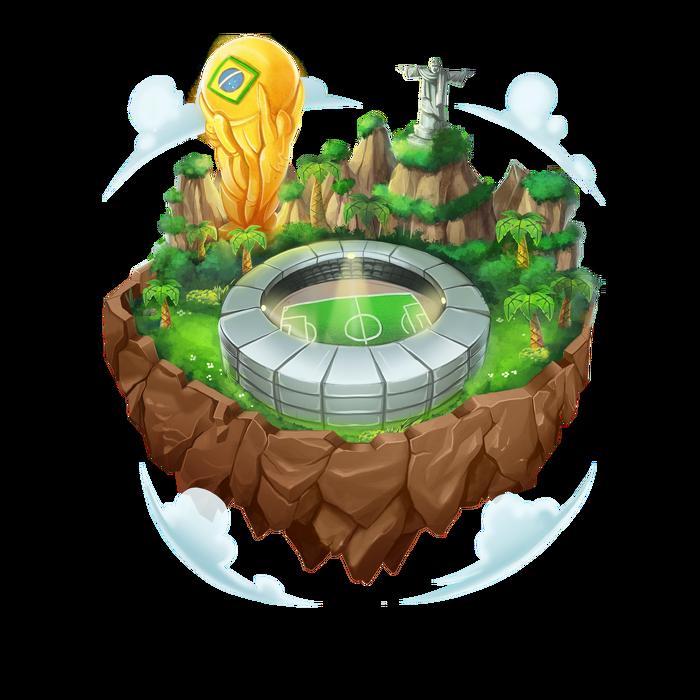 Isla Copa del Mundo