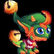 Xmas Elf Dragon 1