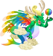 Legendary Dragon 3d