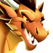 Flame Dragon Golden Flame m3