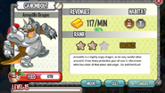 Armadillo Dragon Lvl 15