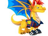 Dragón Futbolista