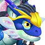 Blue Alien Dragon m2