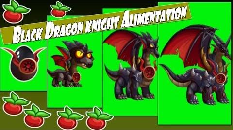 Dragon City Black Dragon knight Alimentation
