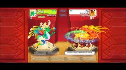 Dragon City -Light Tournament nivel 1