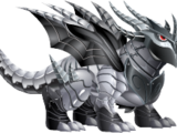 Dragón Metal Doble