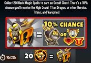 Black Magic events 2