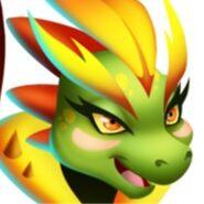 Nature Dragon Nature Crush skin m3