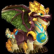 Earth Day Dragon 2