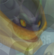 Rogue Dragons face after Xrayed ditto