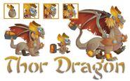 Thor-dragon-collage