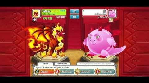 Dragon city Pure Flame lvl 40 Chamas Puro nivel 40