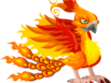Dragón Pájaro de Fuego