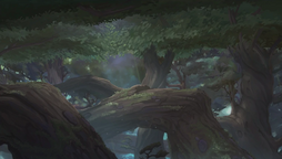 Moonshadow forest