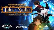 Tales of Xadia The Dragon Prince Roleplaying Game Announcement Trailer