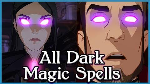 ALL Dark Magic Spells Reversed Decoded in The Dragon Prince Season 1!