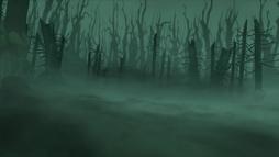 Cursed Caldera Forest