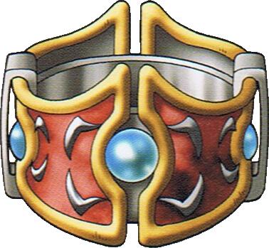 gold bracers dragon quest 9
