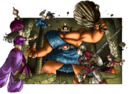 DQIX - Party battle Atlas