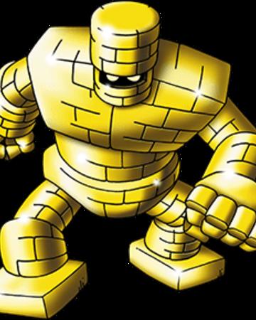 dragon warrior monsters gold golem skills