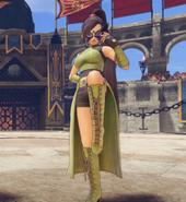 DQXI - Masked Jade in Battle