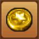 A mini medal from Dragon Quest IX