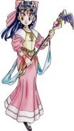 DQV - Nera in Princess's robe