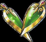 DQVII3DS - Falcon knife earrings
