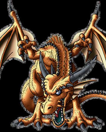 Dragon quest 6 gold dragon statue golden dragon lancaster menu