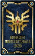 Monster Battle Road II Legend Emblem of Roto card holder