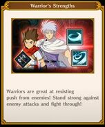 Warrior's strength