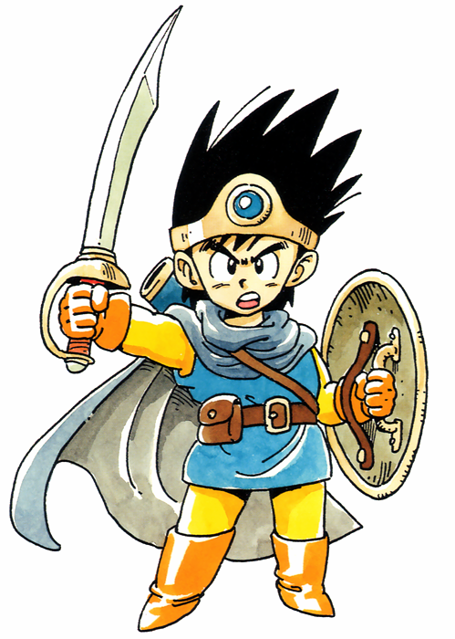 Erdrick Dragon Quest Iii Dragon Quest Wiki Fandom