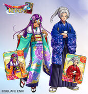Dragon Quest Rivals Meena and Angelo New Year