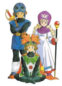 Dragon Quest II Trio