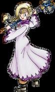 DQV - Bianca in Sage's robe