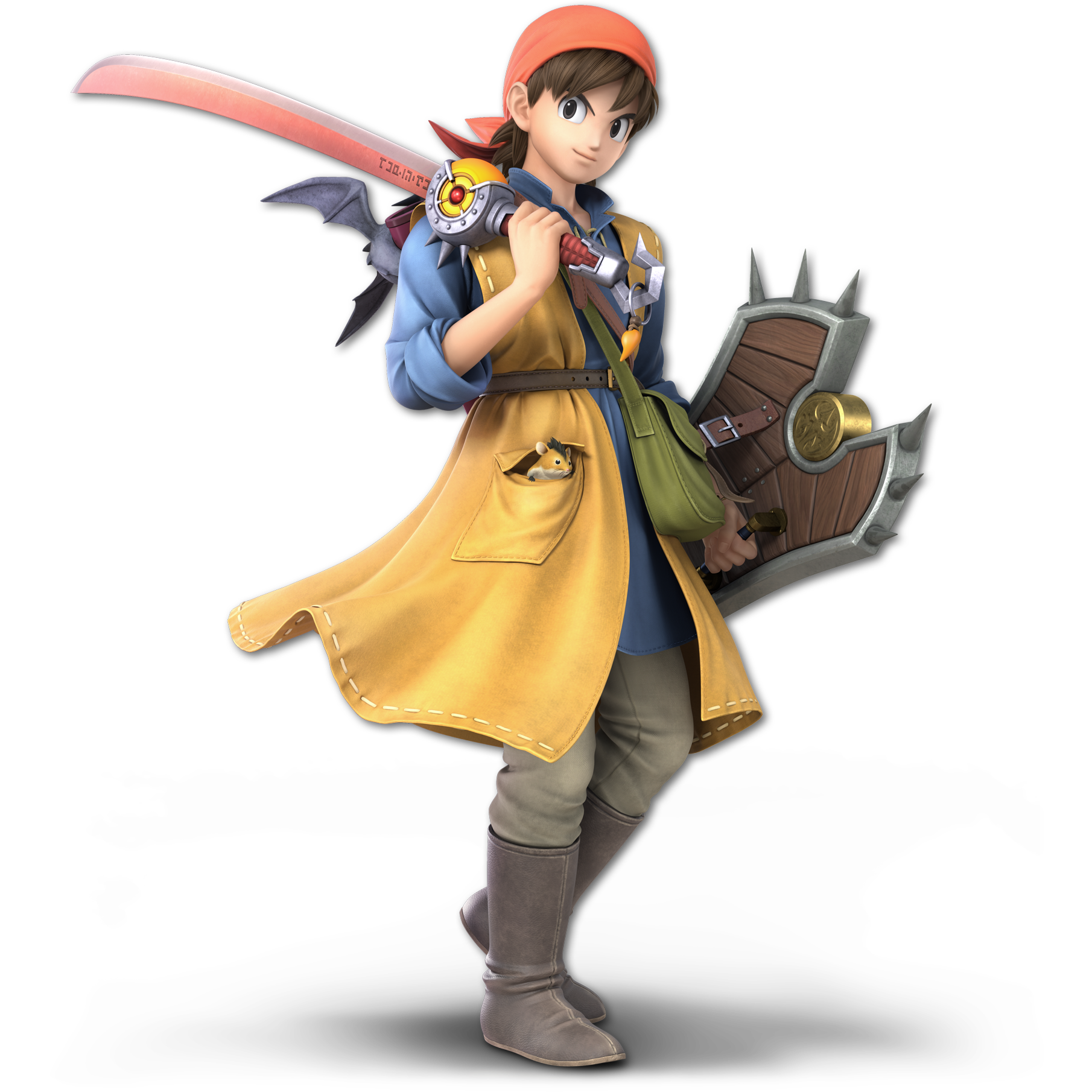 Hero Dragon Quest Viii Dragon Quest Wiki Fandom Dragon quest xi has a number of clothes and outfits in the game, allowing you to change the appearance of each character in your party. hero dragon quest viii dragon quest