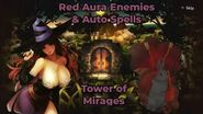 Dragon's Crown - Guide to Red Auras & Auto Spells (Tower of Mirages)