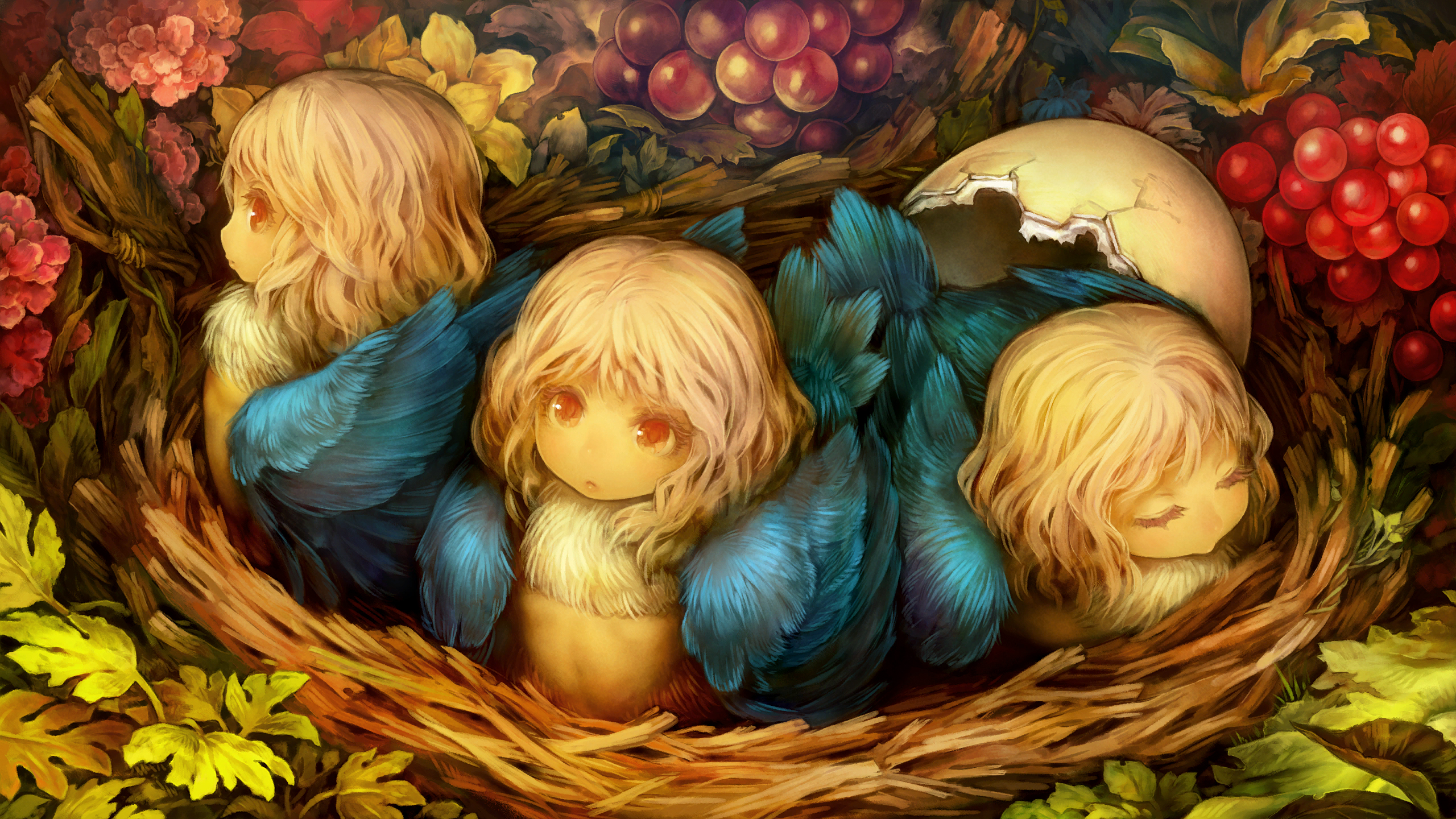 Harpy Chicks